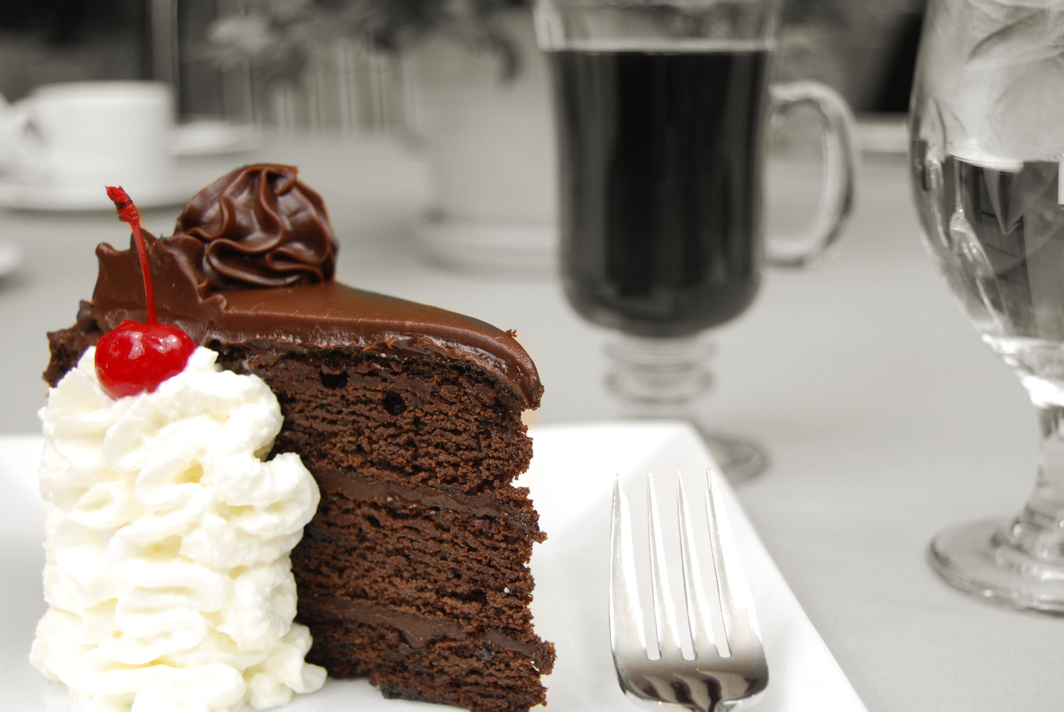 The Point of a Chocolate Cake